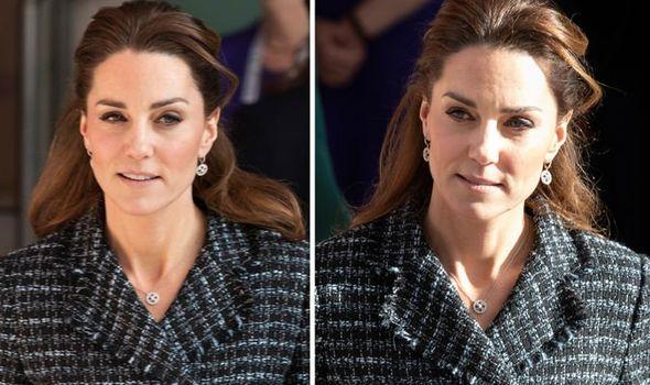 Kate Middleton embarrassed