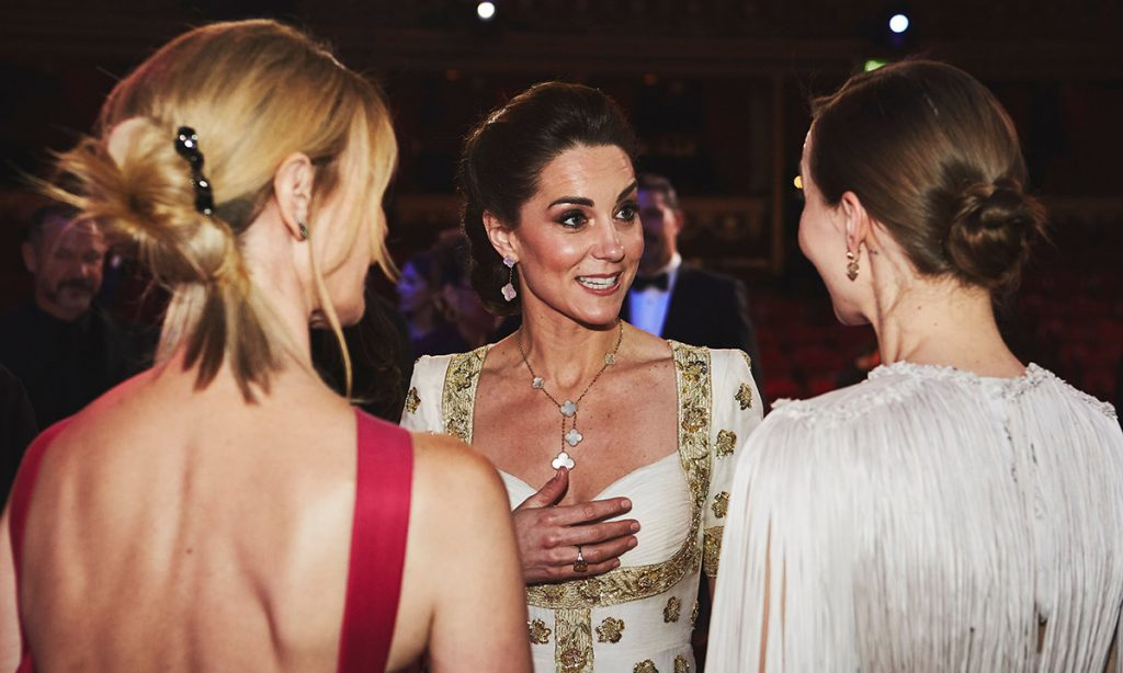 Kate Middleton makes a candid confession backstage at the BAFTAs Photo C GETTY IMAGES