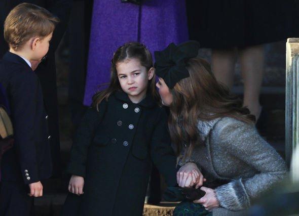 Kate Middleton news: Prince George and Princess Charlotte with Kate