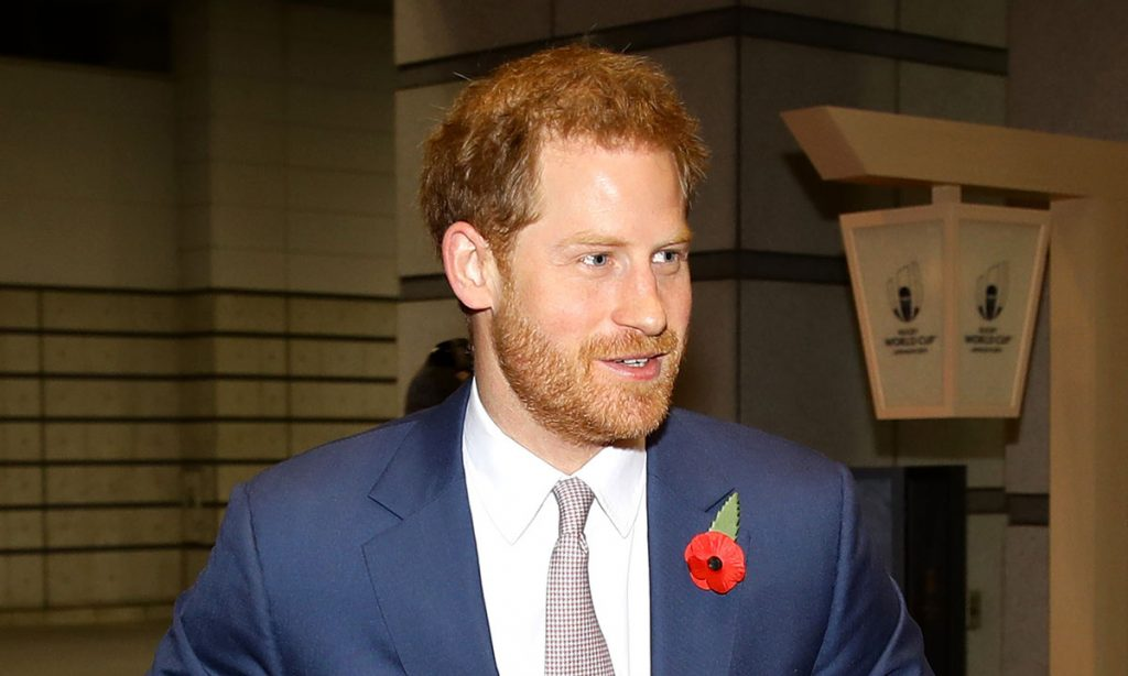 Prince Harry spotted in Edinburgh for one of his last engagements as a working royal Photo C GETTY IMAGES