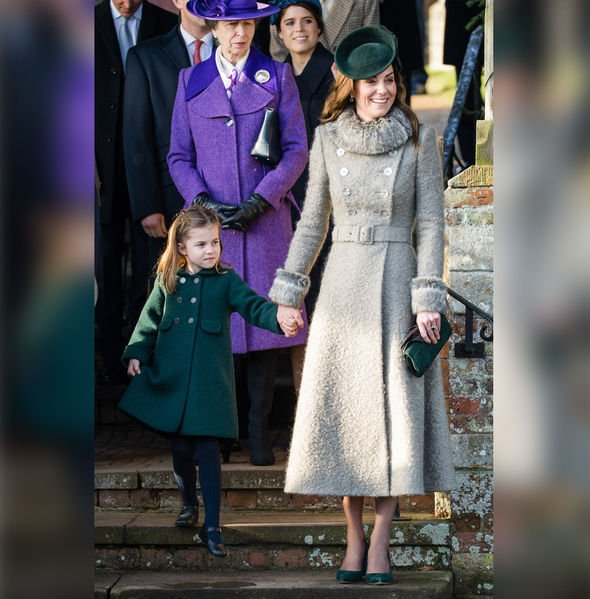 Princess Charlotte Kate Middleton Royal Family latest picture
