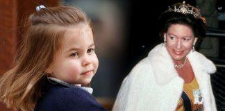 Princess Charlotte and Princess Margaret