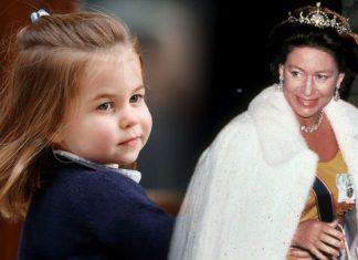 Princess Charlotte and Princess Margaret