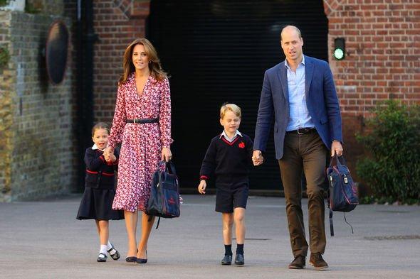 Princess Charlotte title SNUB: Prince William's children were both born a Prince and Princess