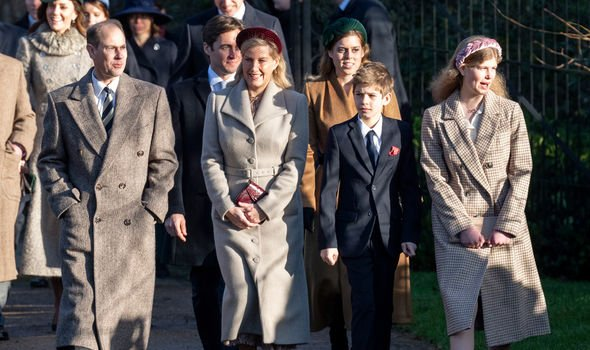 Sophie Wessex Prince Edward Louise James Royal Family latest news