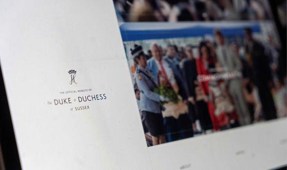 Sussex Royal website duke duchess of sussex brand latest news