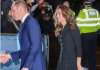 The Duke and Duchess of Cambridge enjoyed a glamorous date night on Tuesday