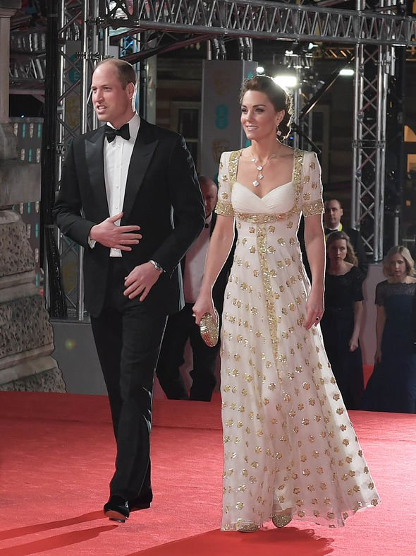 The royal couple looked elegant as they graced the red carpet