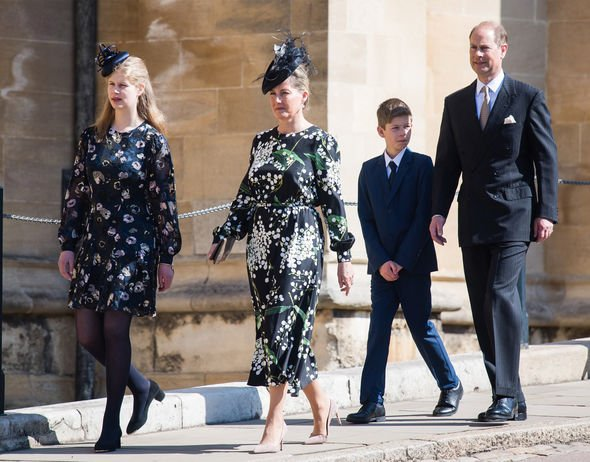 Wessex Royal Family Sophie Prince Edward Louise James latest photo news