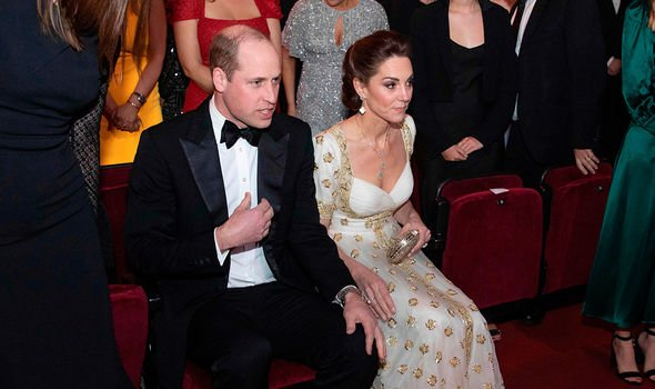 kate middleton bafta video kate outfit pictures duchess of cambridge prince william royals