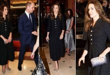 kate middleton duchess of cambridge theatre dear even hansen prince william