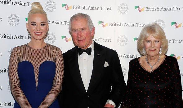 prince charles katy perry british asian trust ambassador twitter reaction royal news