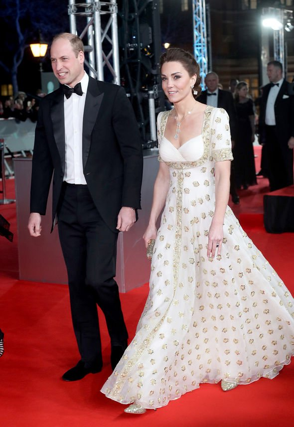prince william bafta 2020 speech the crown duke of cambridge royal news