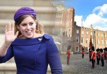 Royal blessing: Princess Beatrice