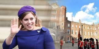 Royal blessing: Princess Beatrice
