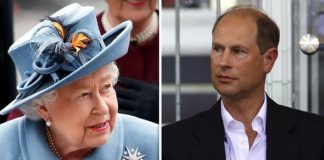 The Queen and Prince Edward