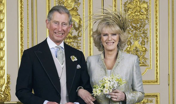 Charles and Camilla wed in April 2005 in a civil ceremony