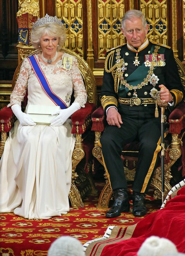 Queen Camilla and King Charles III