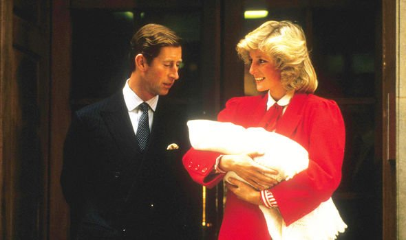 Diana claimed her relationship with Charles crumbled after Harry's birth