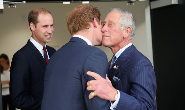 Harry caused tensions within the royal fold when he announced his intention to step back