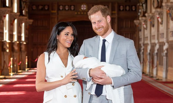 Meghan and Harry named their son Archie Harrison Mounbatten-Windsor after his birth in May 2019