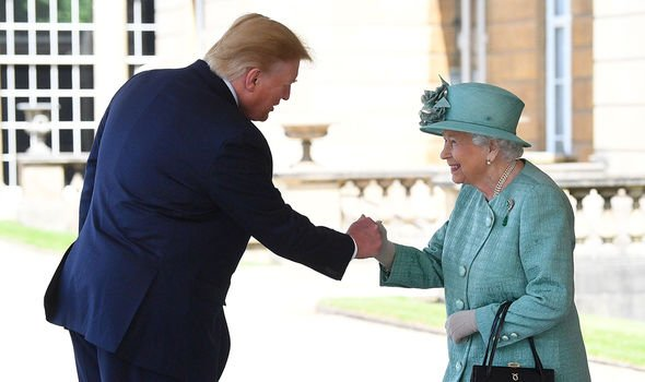Philip did not meet Trump when he came to visit in 2018 nor 2019