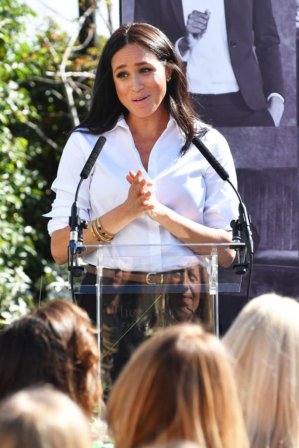 Meghan Markle: Prince Harry Duchess speech