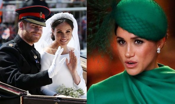 Meghan Markle in London and at her wedding