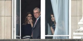 Prince Andrew Eugenie and Beatrice