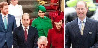 Prince Edward news: Prince Edward and royals