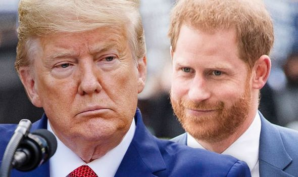 Prince Harry Trump