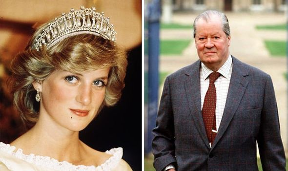 Princess Diana and Earl Spencer