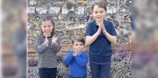 Prince George, Prince Louis and Princess Charlotte