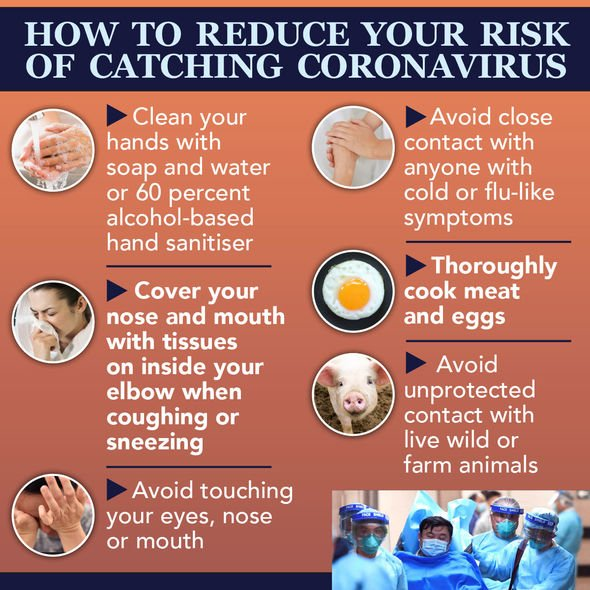 Steps you can take to reduce your chances of catching and spreading coronavirus