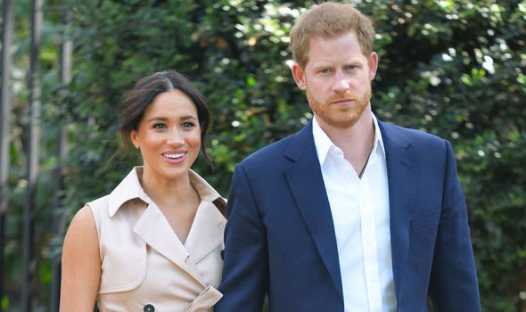 The pair announced they would step back from royal duties in an Instagram post in January