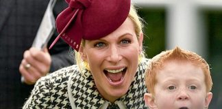 Archie McCoy and Zara Tindall