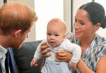 meghan markle prince harry son archie harrison news misha nonoo son leo royal news