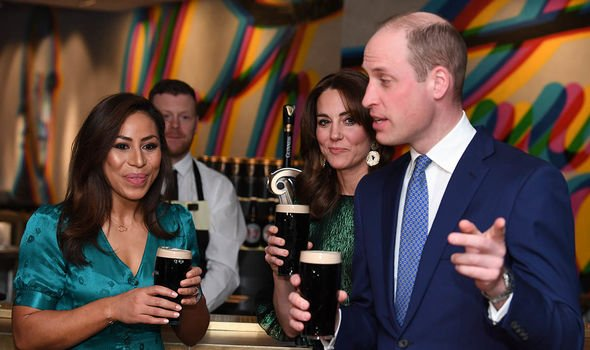 prince william news coronavirus joke reaction kate william ireland tour coronavirus fears