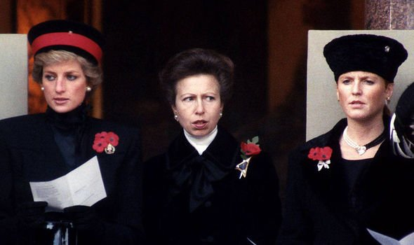 princess diana anne remembrance day