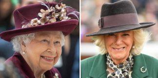 Queen Elizabeth II and Camilla Parker Bowles