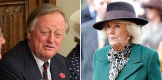 Andrew Parker Bowles and Camilla Parker Bowles