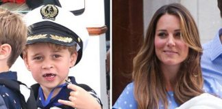 Prince George; Kate Middleton