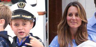 Prince George; Kate Middleton