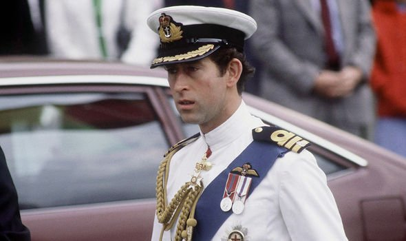 Charles served in the Royal Navy for six years