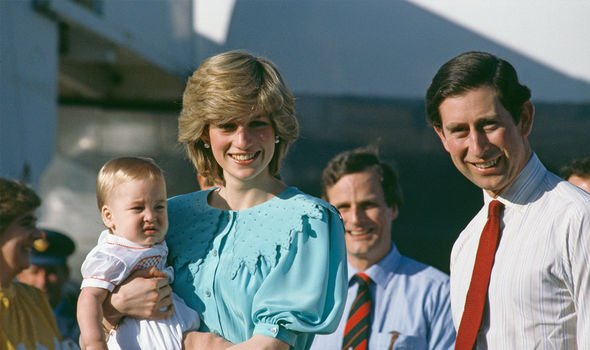 Diana and Charles also brought nine-month old Prince William on the tour