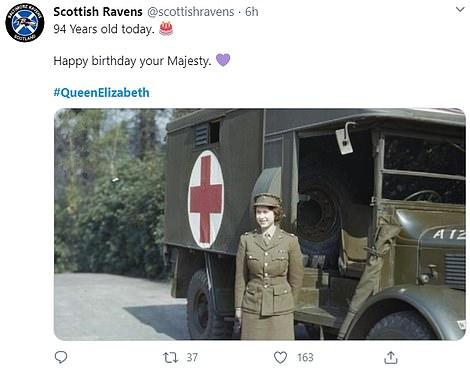 Happy birthday tweets