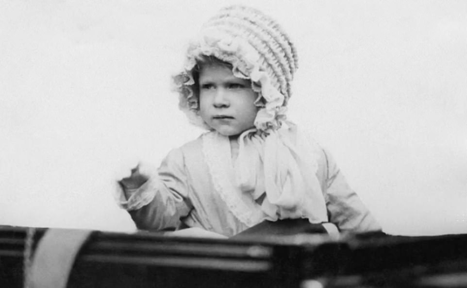 Touching archive film, from the Royal Collection Trust,shows the monarch as a child - released to mark her 94th birthday
