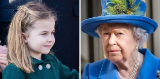 Princess Charlotte shock