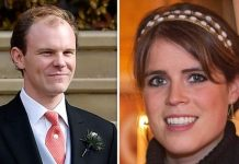 Princess Eugenie coronavirus father-in-law brooksbank