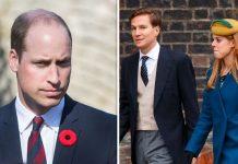 Prince William, Princess Beatrice and her ex-boyfriend Dave Clark